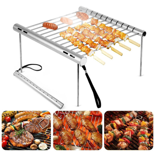 Barbecue Grill Camping Picnic BBQ Rack
